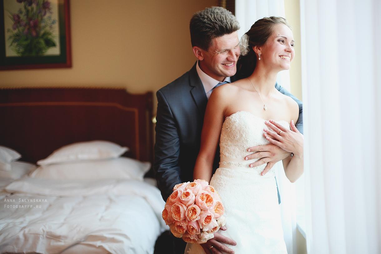 свадебная фотосессия в отеле москва