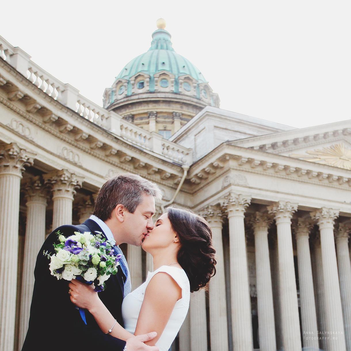свадебная фотосессия в Питере