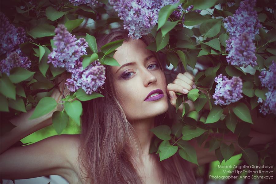 Фотосессии с цветами