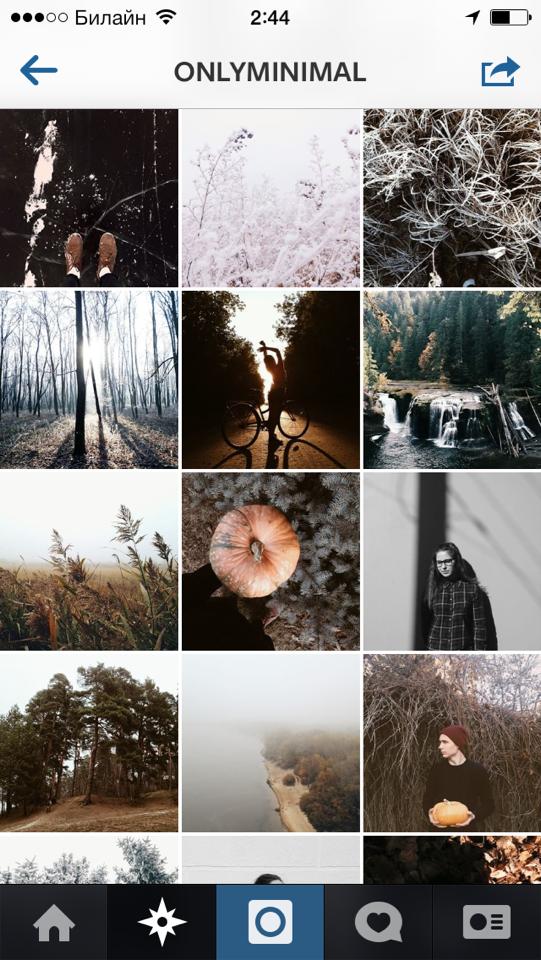 Как сделать инстаграм профиль красивым