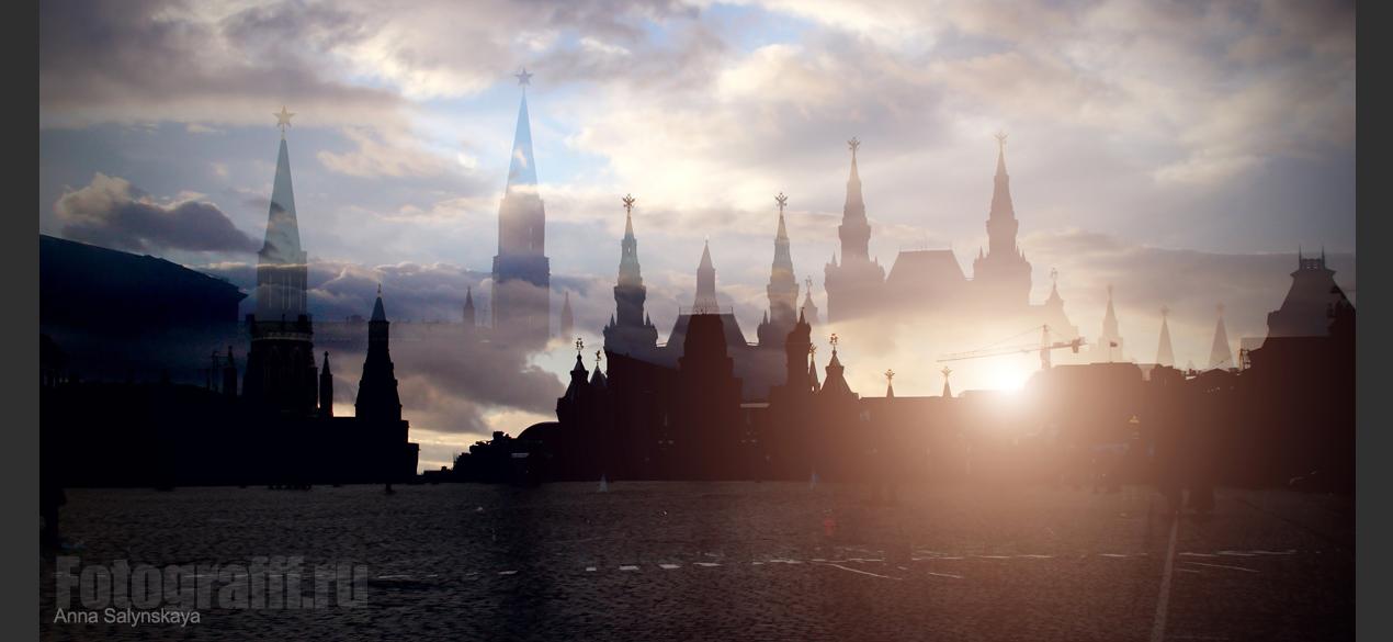 Москва, Красная Площадь. Фото - Анна Салынская