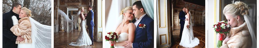 Свадьба в Кусково зимой