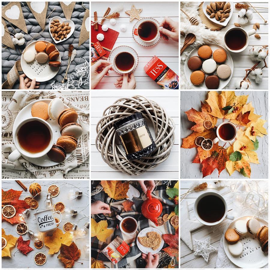 Осенний стиль инстаграм