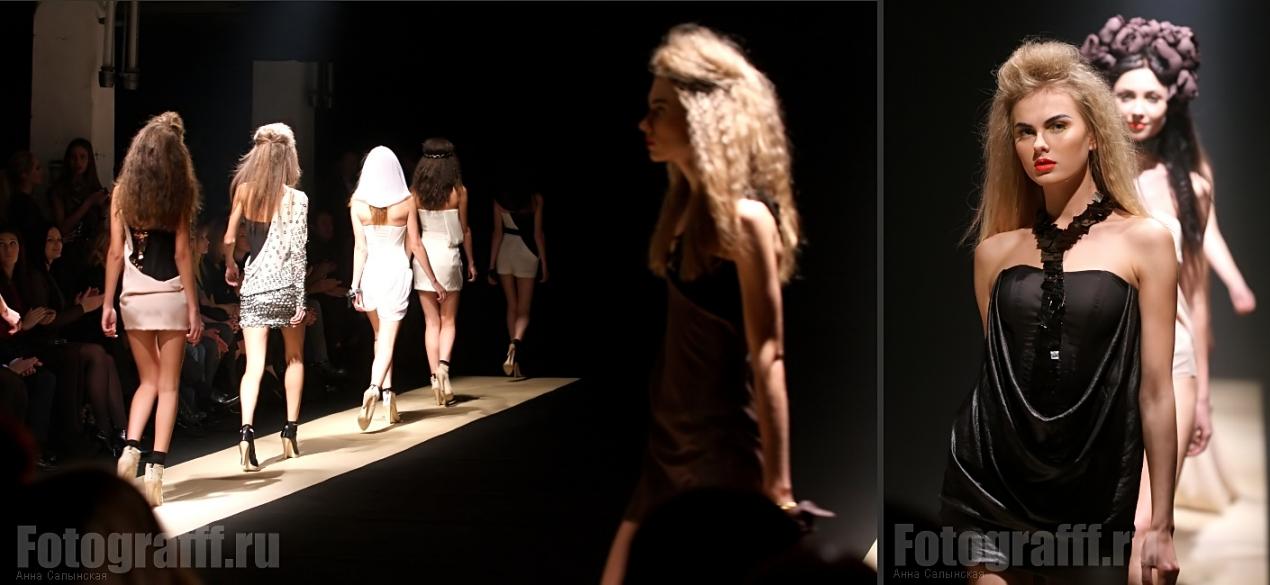 Фотосъемка fashion показов. Показ Игоря Чапурина. Фотограф Анна Салынская
