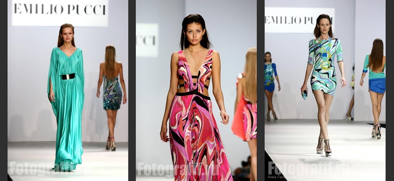 Фотосъемка fashion показов. Показ PUCCI. Фотограф Анна Салынская