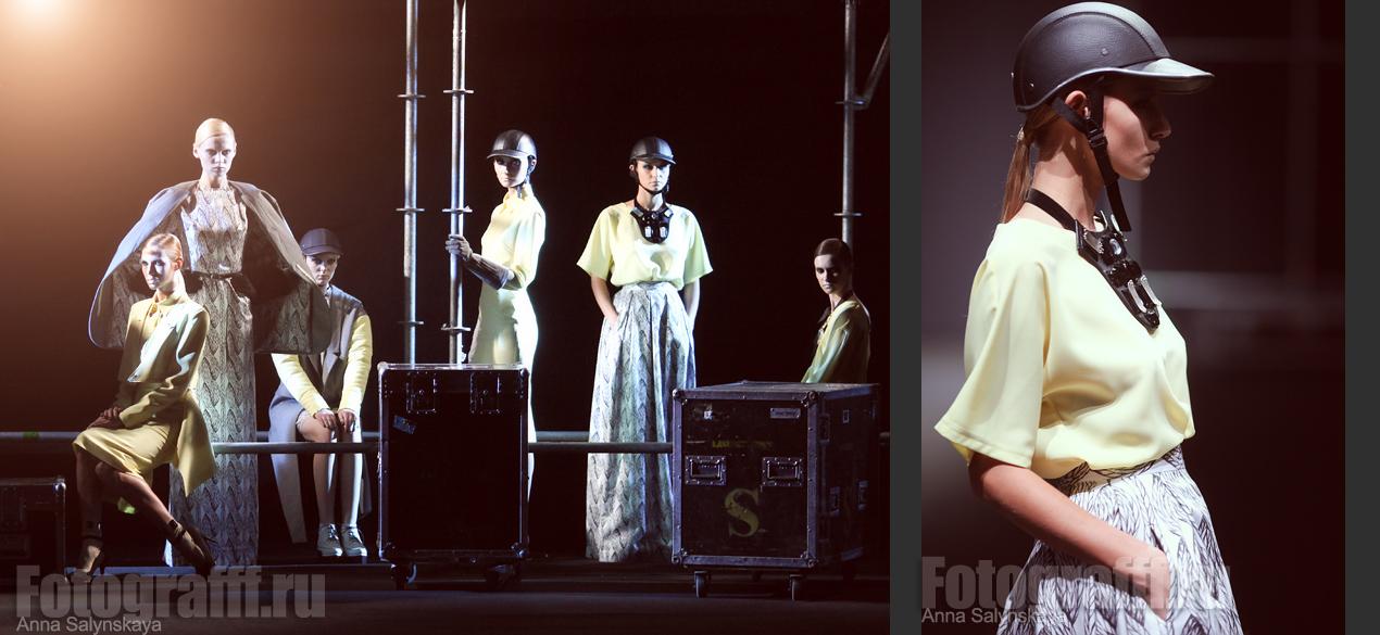 Фотосъемка показов мод. Показ Bessarion. Фотограф Анна Салынская