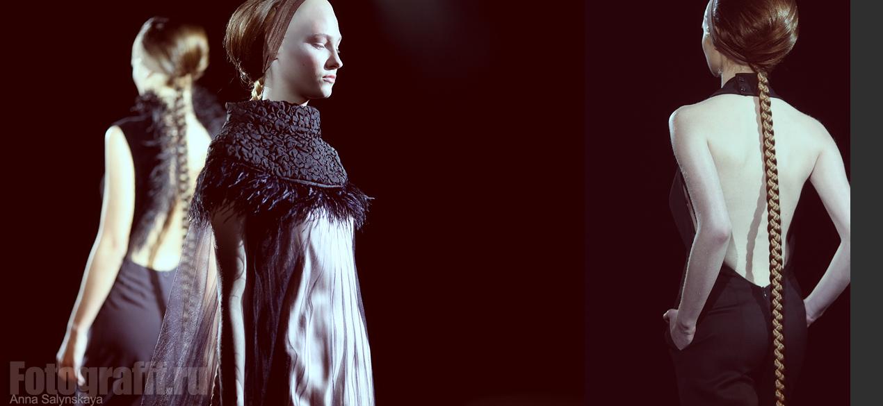 Фотосъемка показов мод. Показ TEGIN. Фотограф Анна Салынская
