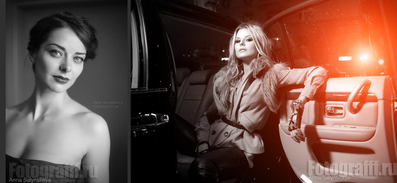 Постановочные фотосессии с авто, Марина Александрова. Фотограф Анна Салынская