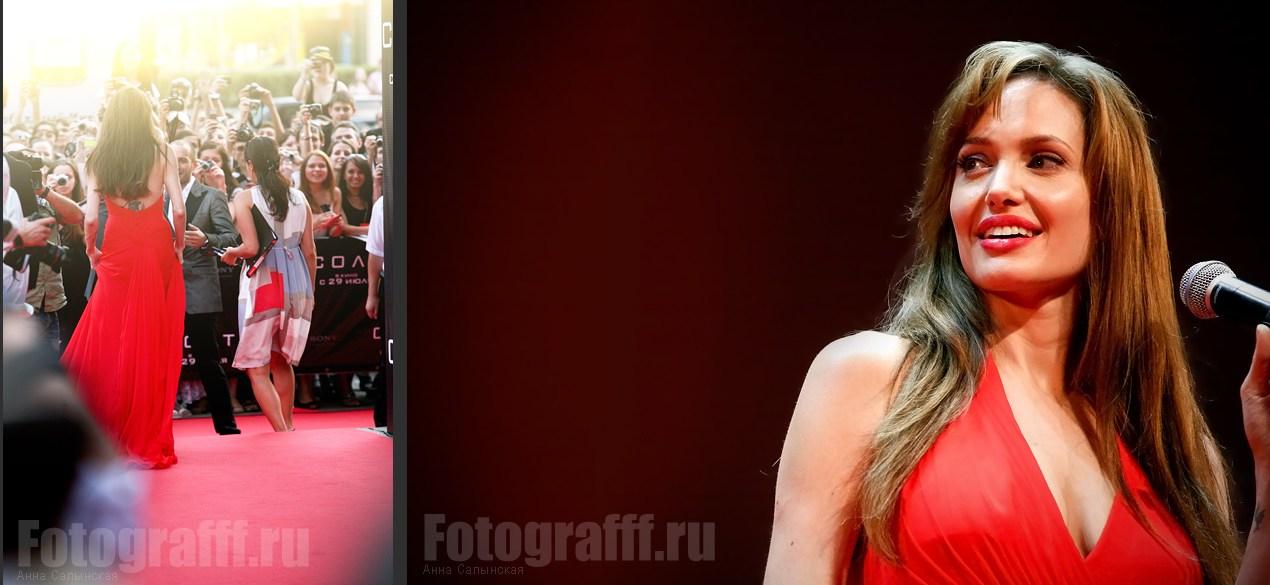 Актриса Анжелина Джоли / Angelina Jolie на премьере фильма