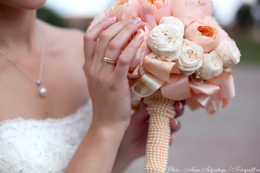 свадебный букет фотосъемка