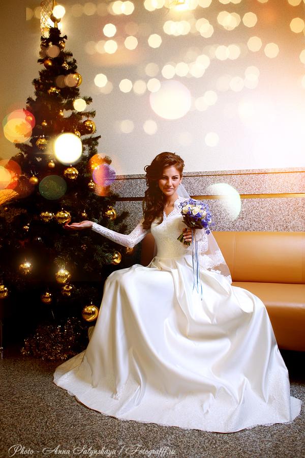 свадебная фотосессия новогодняя