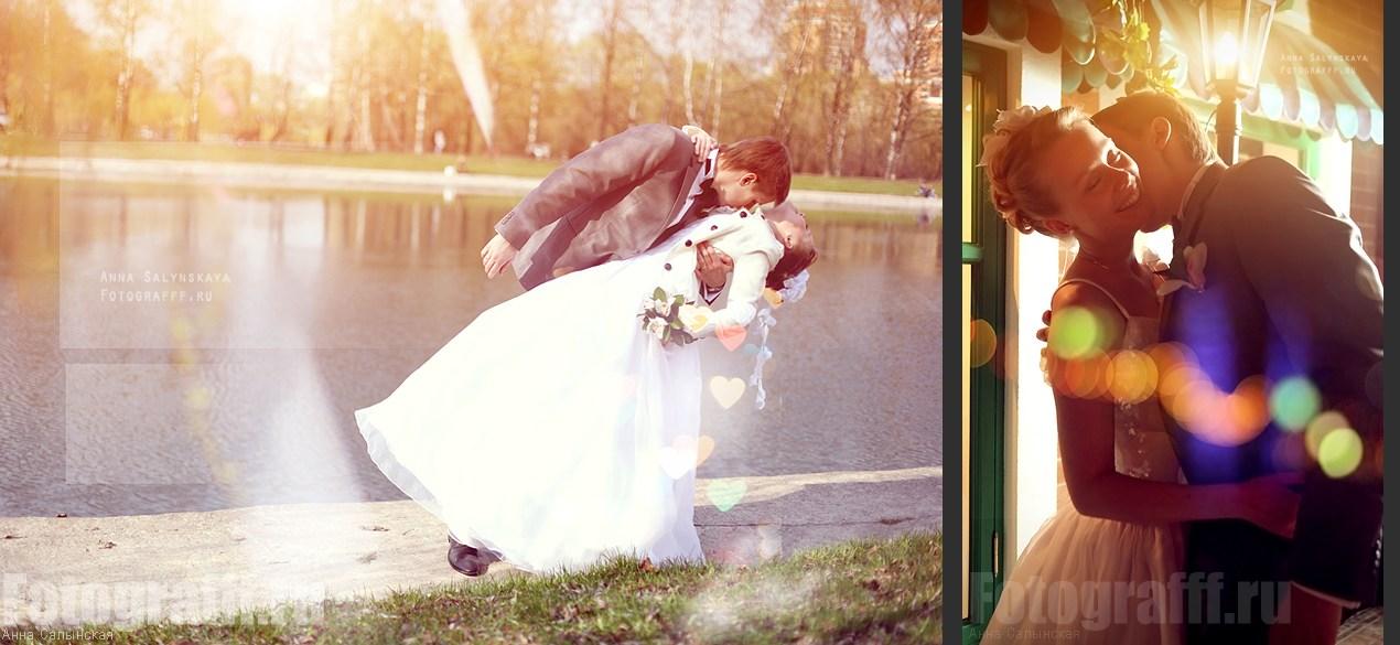 Свадебная фотосъемка, фото свадьбы, обработка, фото love story, Фотограф Анна Салынская