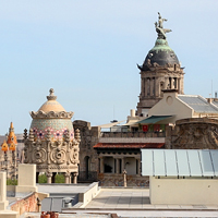 Крыши Барселоны