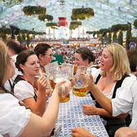 Oktoberfest, Мюнхен, Бавария