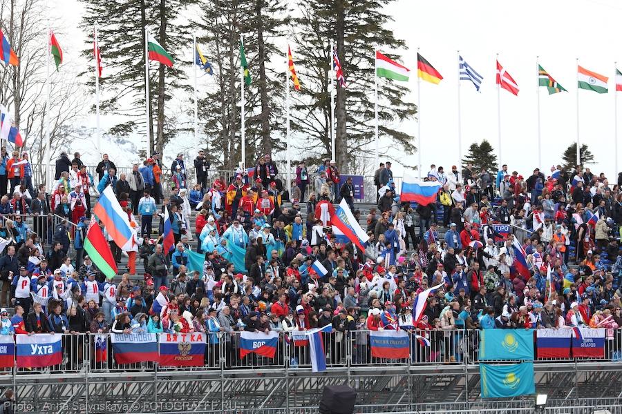 сочи лыжные гонки