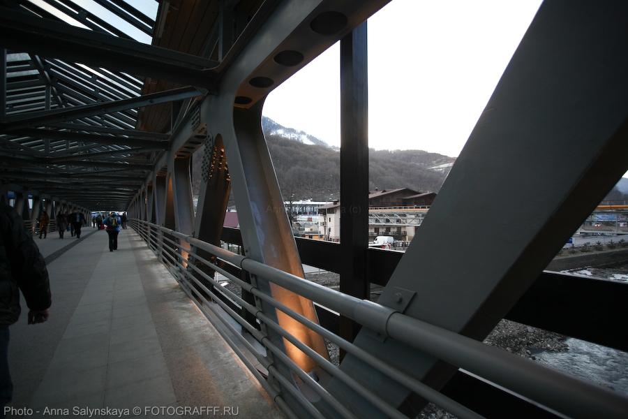 сочи мост горы