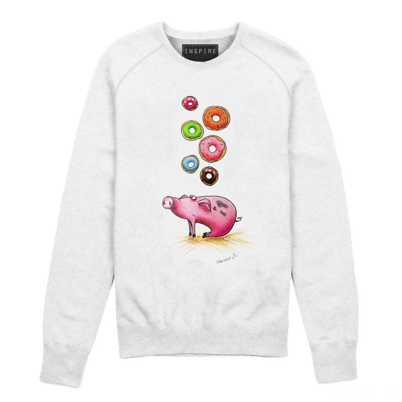 Свитшот со свиньей