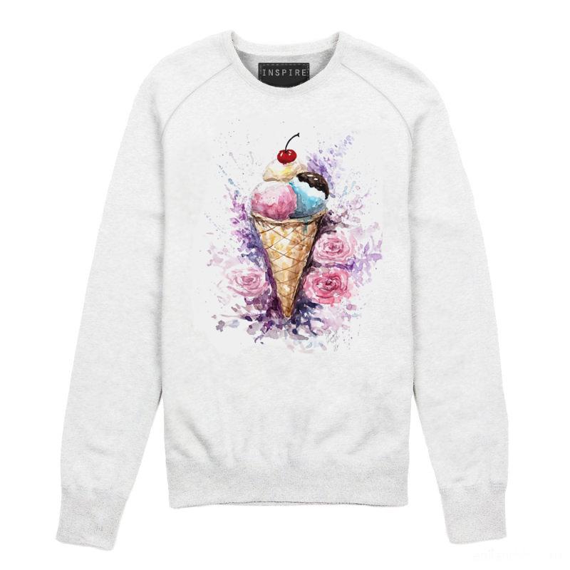 свитшот с мороженым