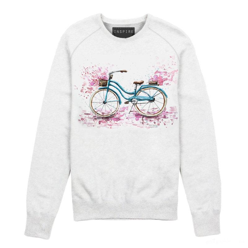Свитшот с велосипедом