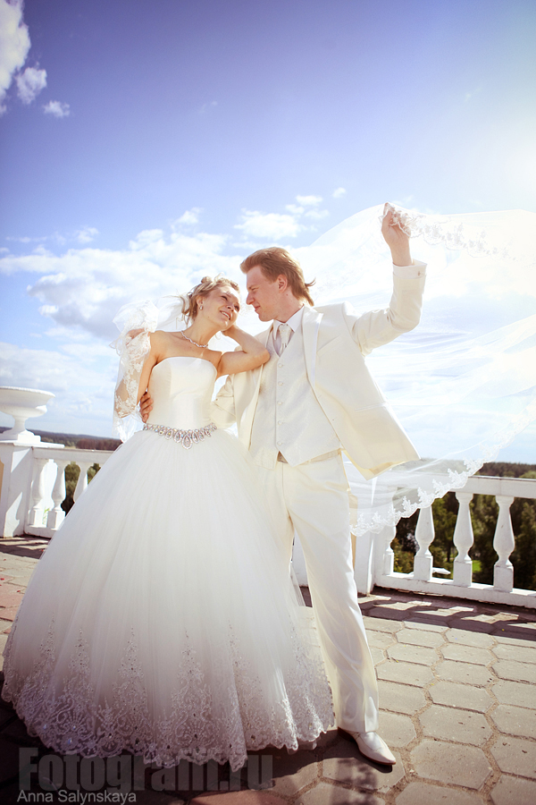 свадебная фотосессия в Архангельском