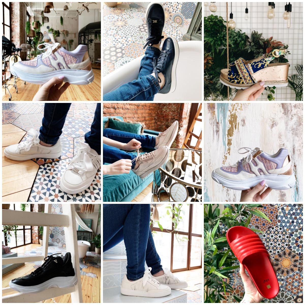 Фэшн съемка обуви