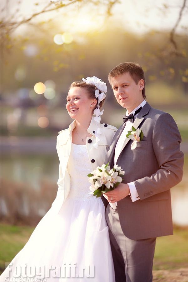 свадебная фотосессия весной