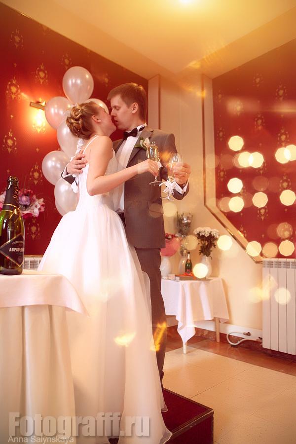 свадебная фотосессия в ресторане