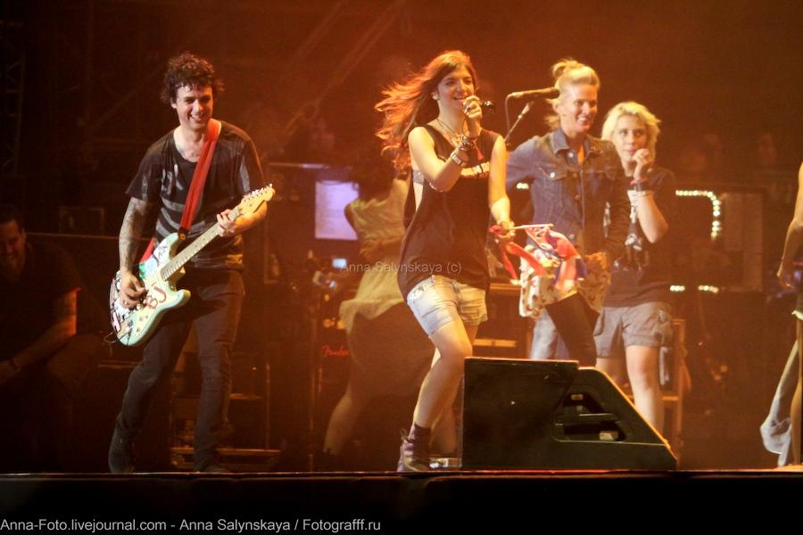 Green Day,  Rock en Seine