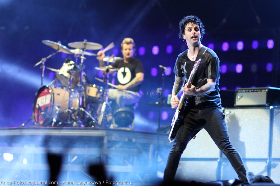 Green Day Billie Joe Armstrong