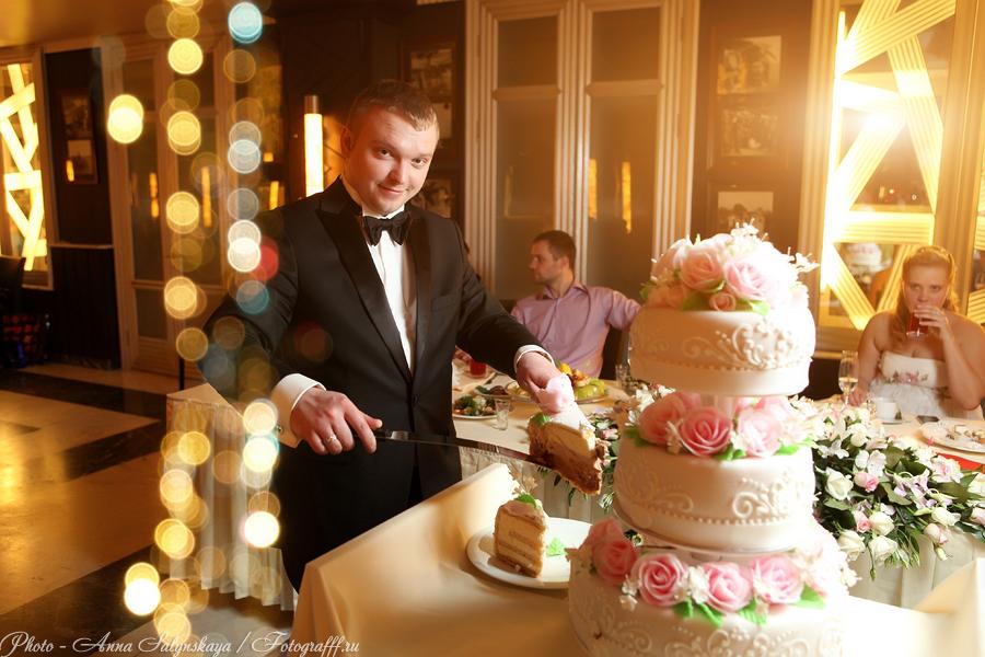 Свадебный торт, фотосъемка свадеб