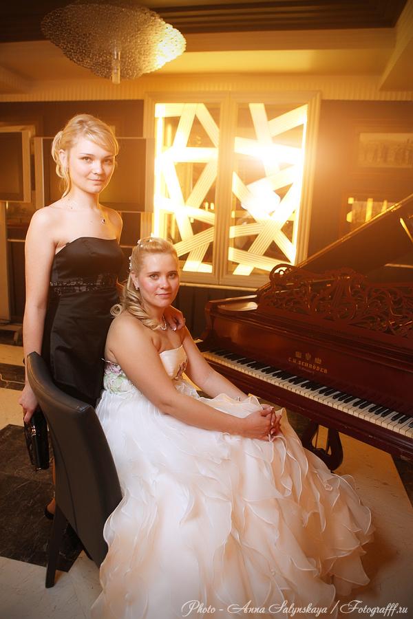 Свадебная фотосессия с роялем