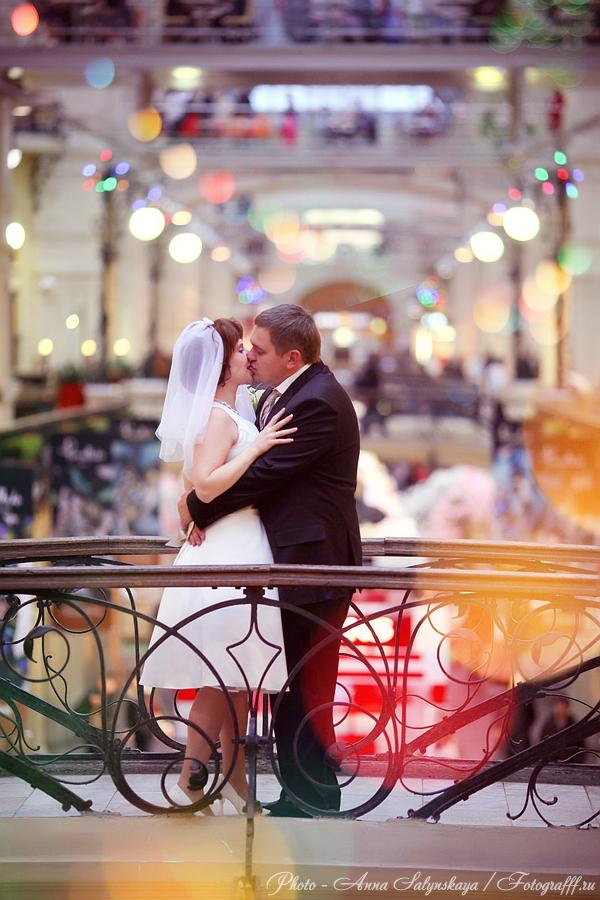 свадебная фотосессия в ГУМе