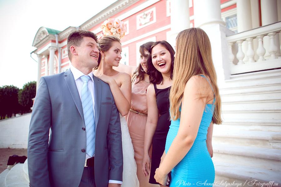 свадебнас фотосессия в Кусково