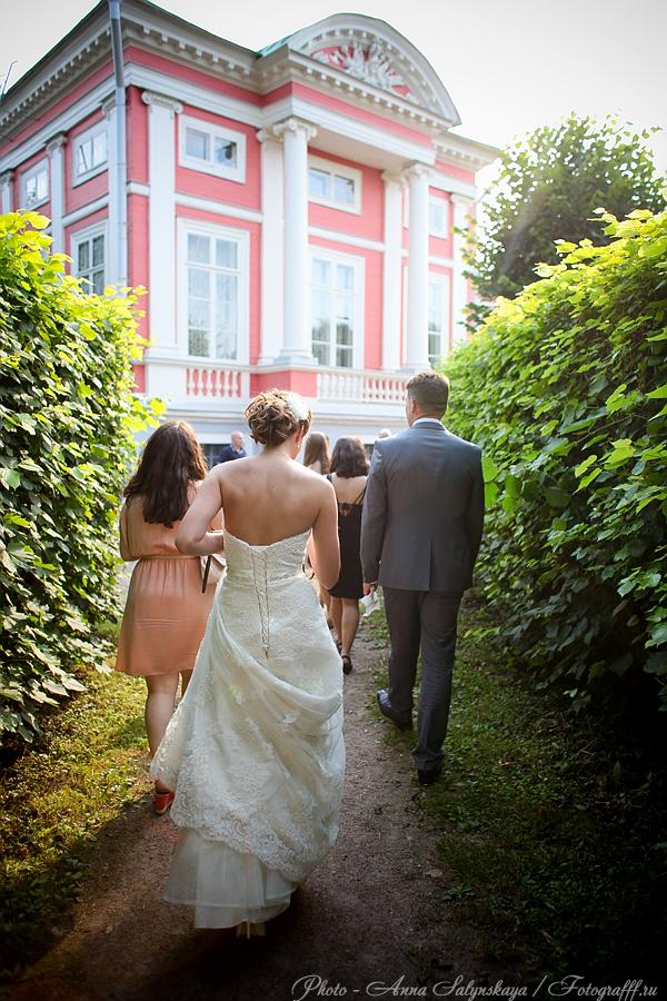 свадебная фотосессия в Кусково
