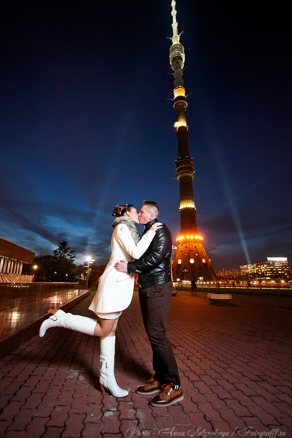 свадебная фотосессия в останкино