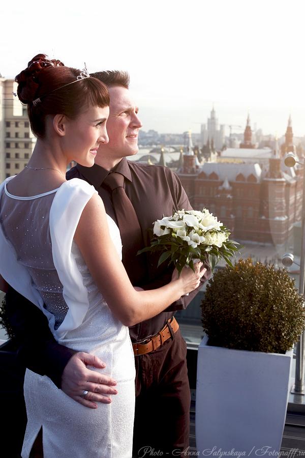 Свадебная фотосессия в Ритц Карлтон