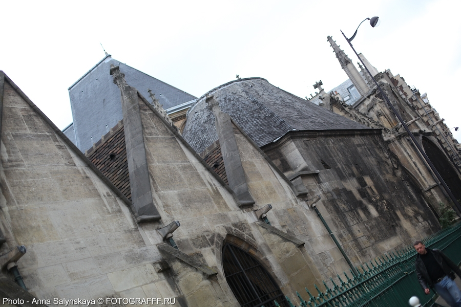 IMG_8497_2013_AnnaSalynskaya - Собор Saint-Séverin, Париж / Saint-Séverin Cathedral, Paris